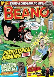 The Beano brings dinosaurs to life.