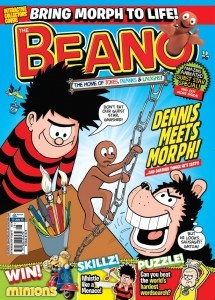 Double Trouble as DC Thomson teams up with Aardman to bring Morph to The Beano