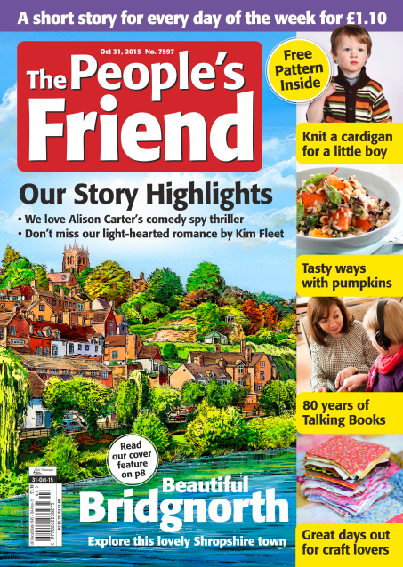 DC Thomson unveils the makeover of a much-loved 'Friend'