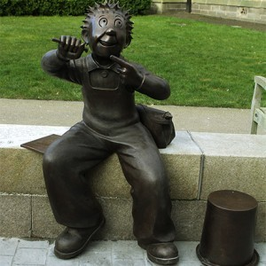 Jings, Crivvens! Oor Wullie unveiled in Dundee city centre