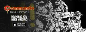 Create your own Commando comics as DC Thomson joins Musomic, the interactive comic Building App!