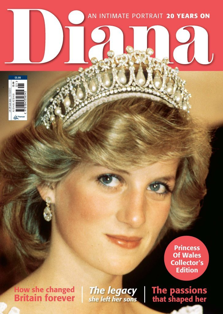 DC Thomson commemorate 20 years since the death of Diana, Princess of Wales