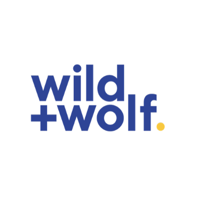 Wild + Wolf logo