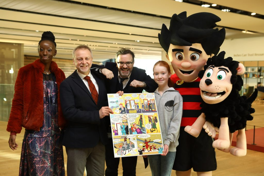Beano Guinness World Record comic strip unveiled in V&A Dundee