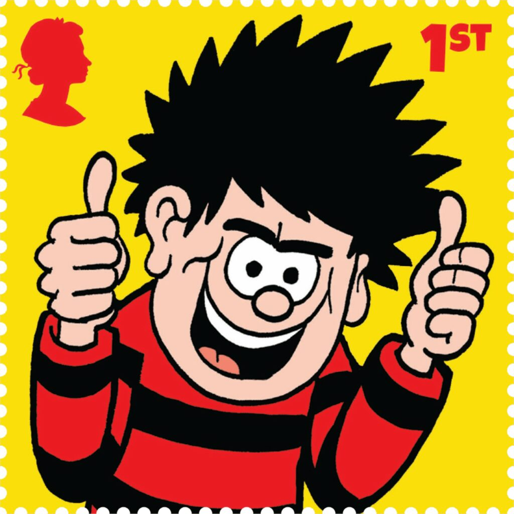 Royal Mail Marks Dennis' 70th Anniversary with set of 10 Special Stamps