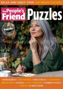 Puzzler Presents…The People's Friend Puzzles