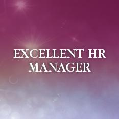Excellent HR Manager