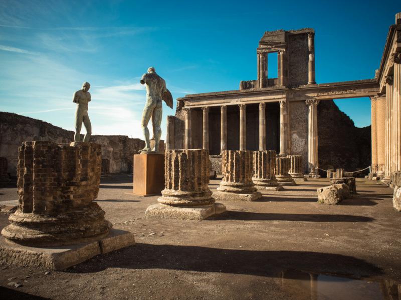 Pompeii, Capri and the Bay of Naples