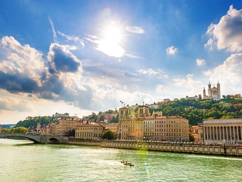 Lyon and Provence River Cruise