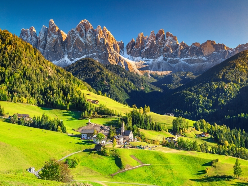 Little Trains of the Dolomites