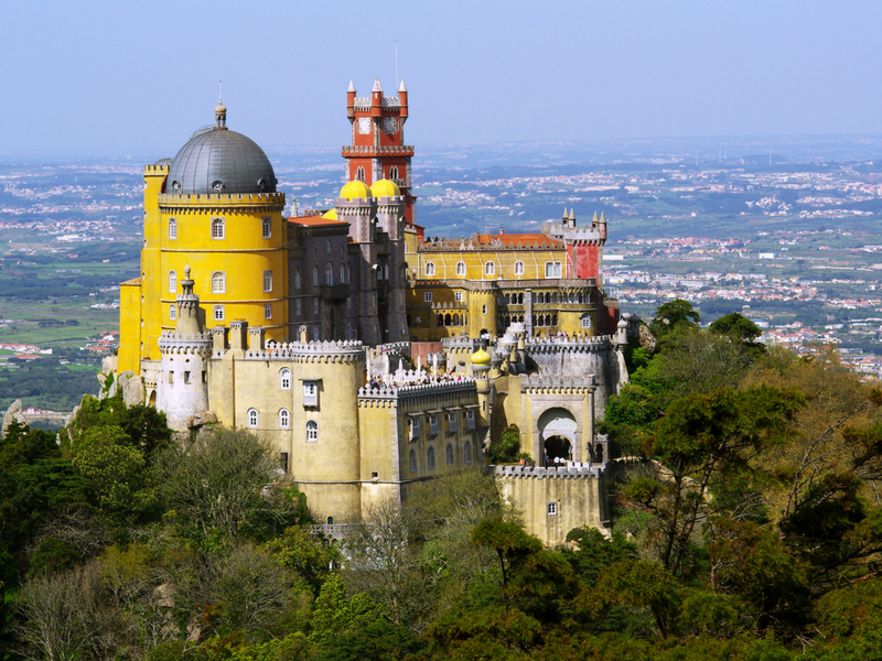 European Castles - The Palace of Pena