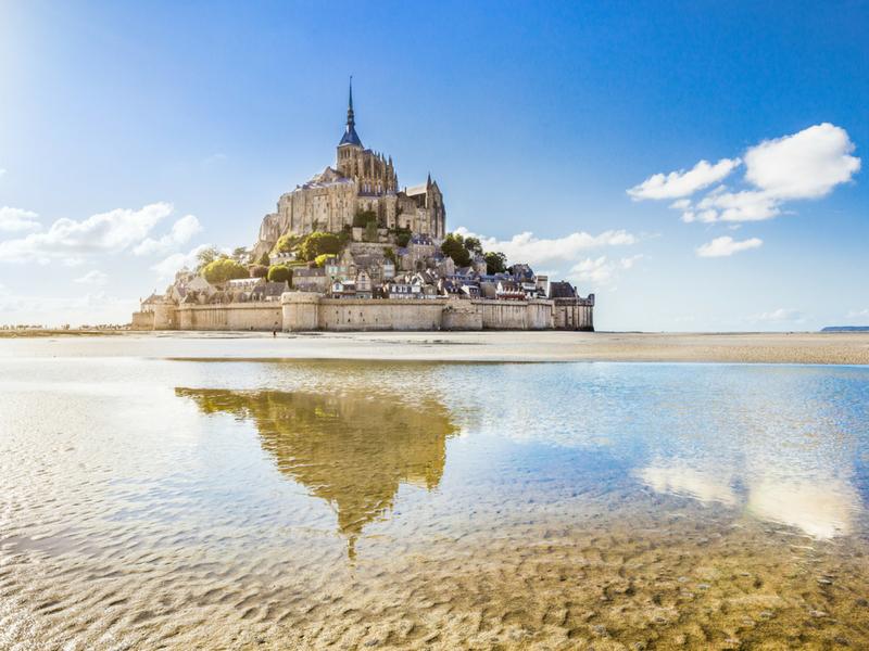 European Castles - Mont Saint Michel