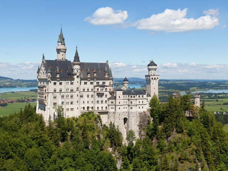 European Castle - Neuschwanstein