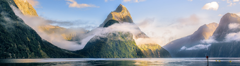 New Zealand - the land of the long white cloud