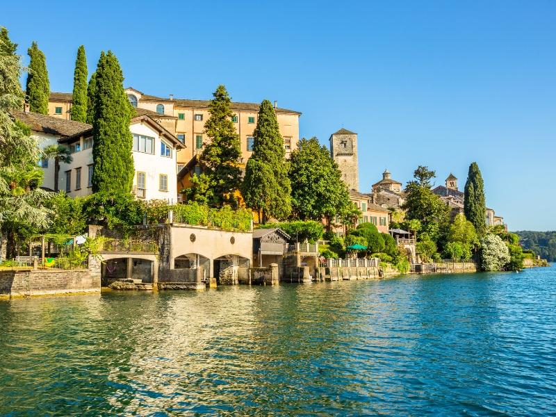 Scenic Lake Orta - Solo Traveller