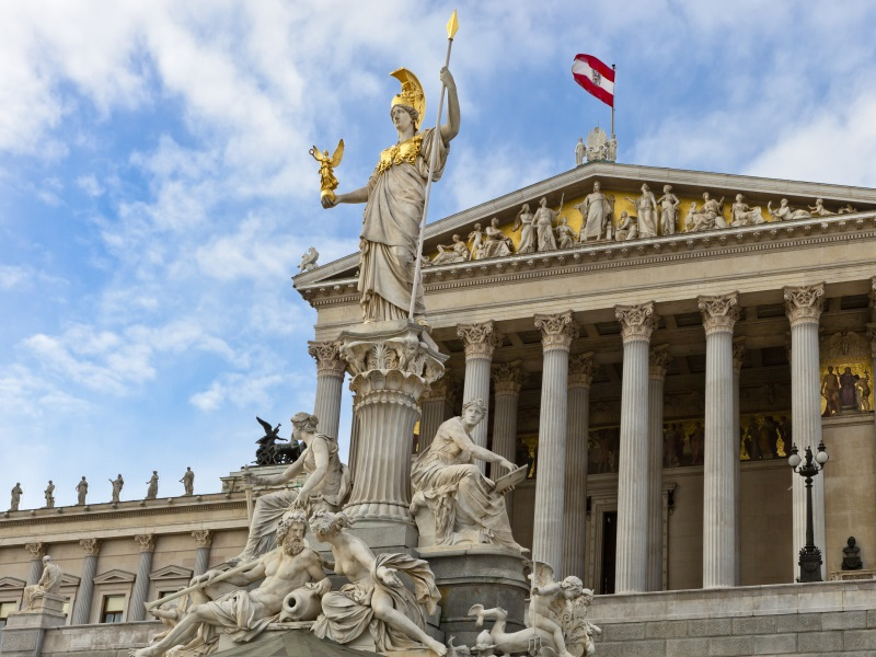 things to do in vienna - parliament building