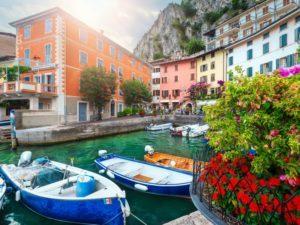 Towns in Lake Garda - Cover