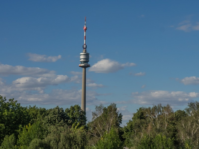 things to do in vienna - danube tower