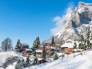 Apline Switzerland Winter