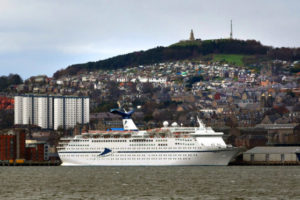 Cruise figures in 2018 for Dundee