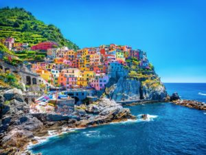 italian coastline towns - cover