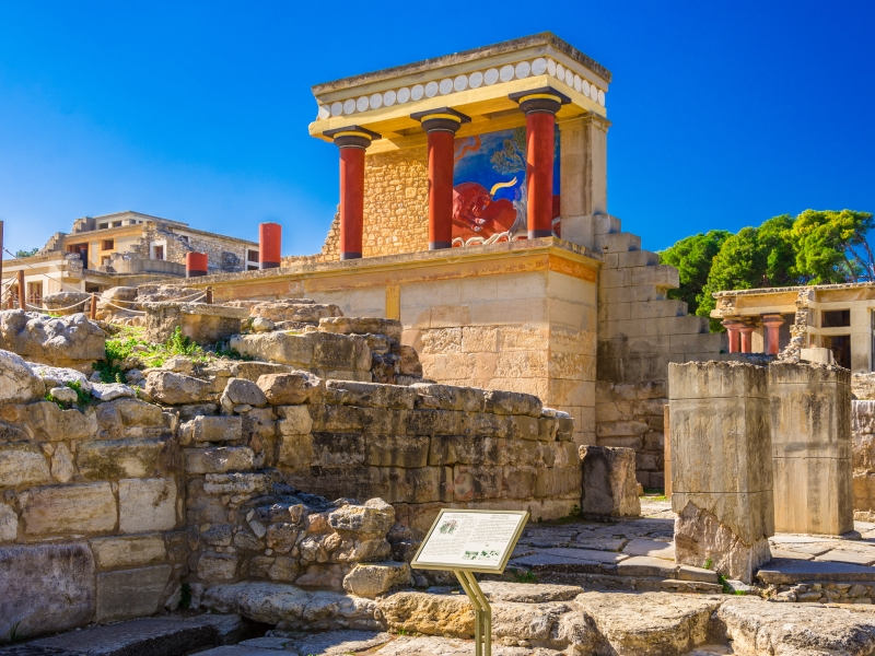 Minoan Palace of Knossos