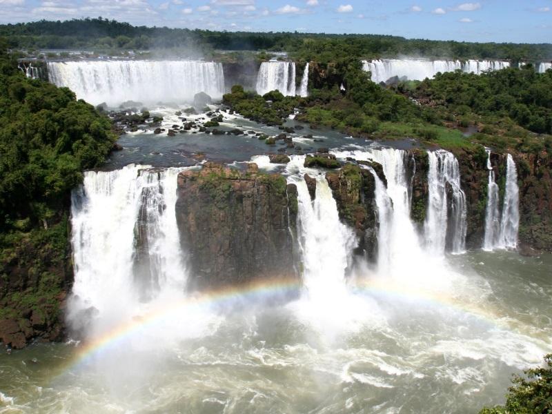 waterfalls around the world - iguaza falls