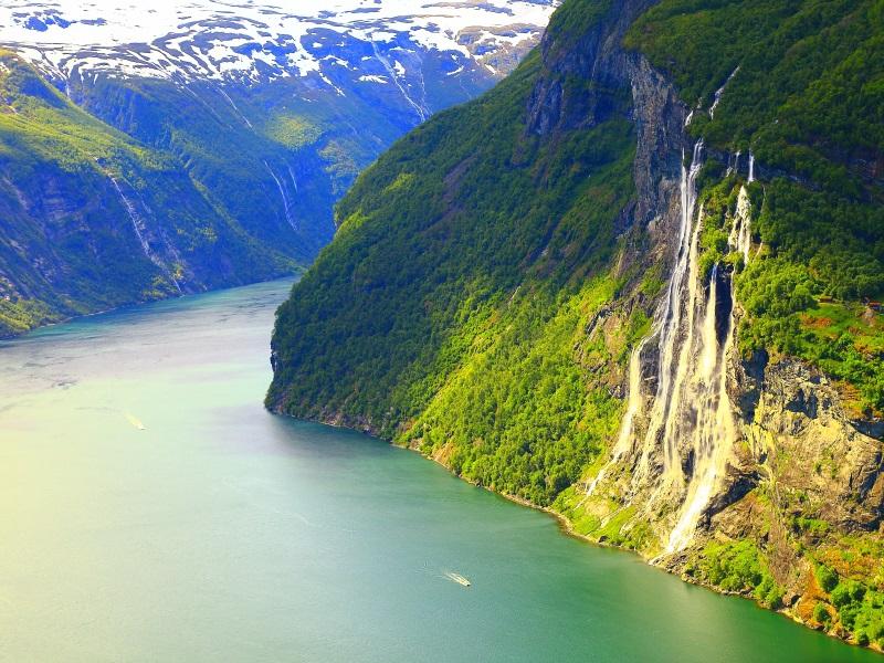 waterfalls around the world - seven sisters waterfall