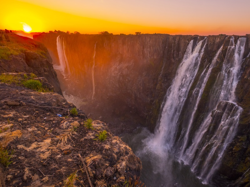 waterfalls around the world - victoria falls