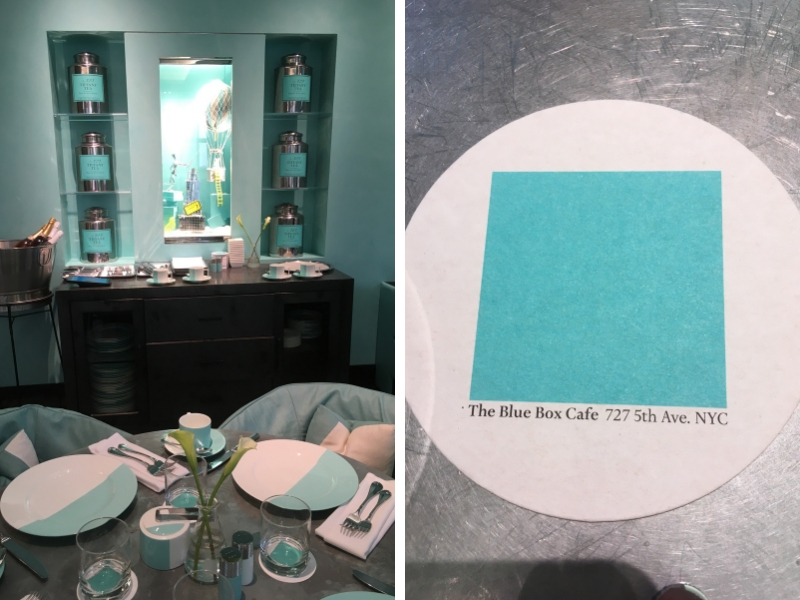 Breakfast at Tiffany's - Blue Box Cafe