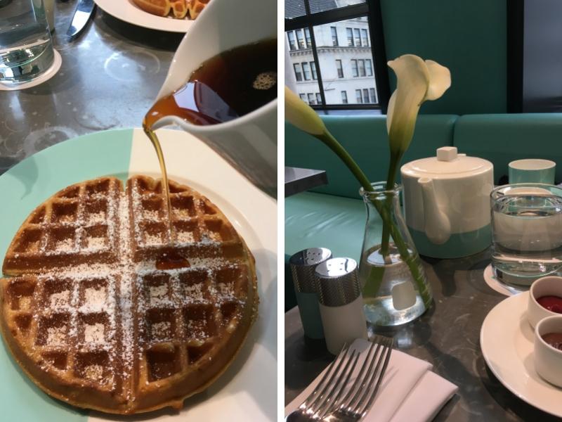 Breakfast at Tiffany's - Pancakes and Tea
