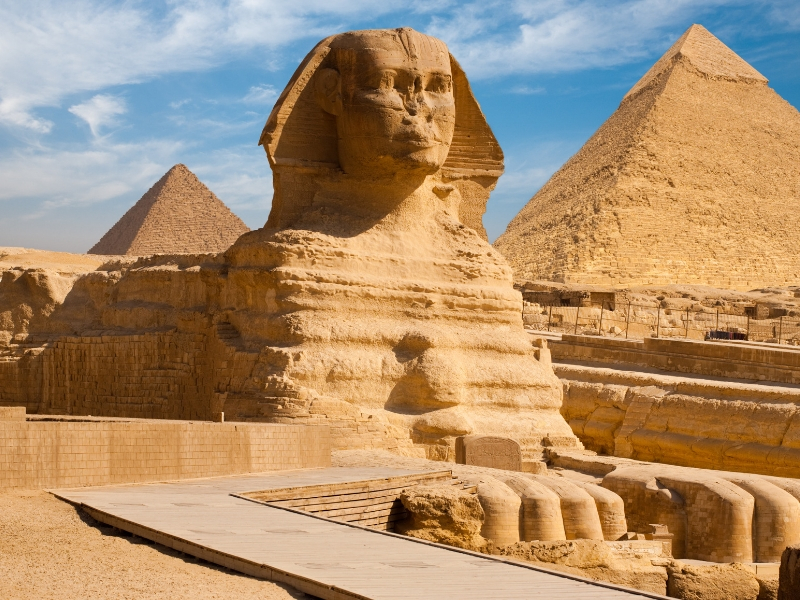 Iconic Statues - Great Sphinx of Egypt