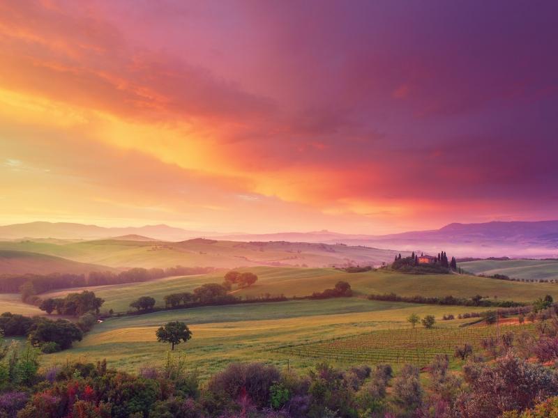 Italy Hiking Destinations - Tuscany