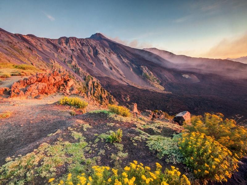 Italy Hiking Destinations - Mount Etna