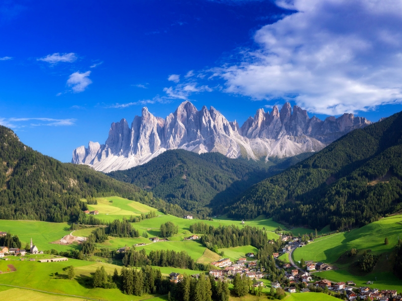 Italy Hiking Destinations - South Tyrol