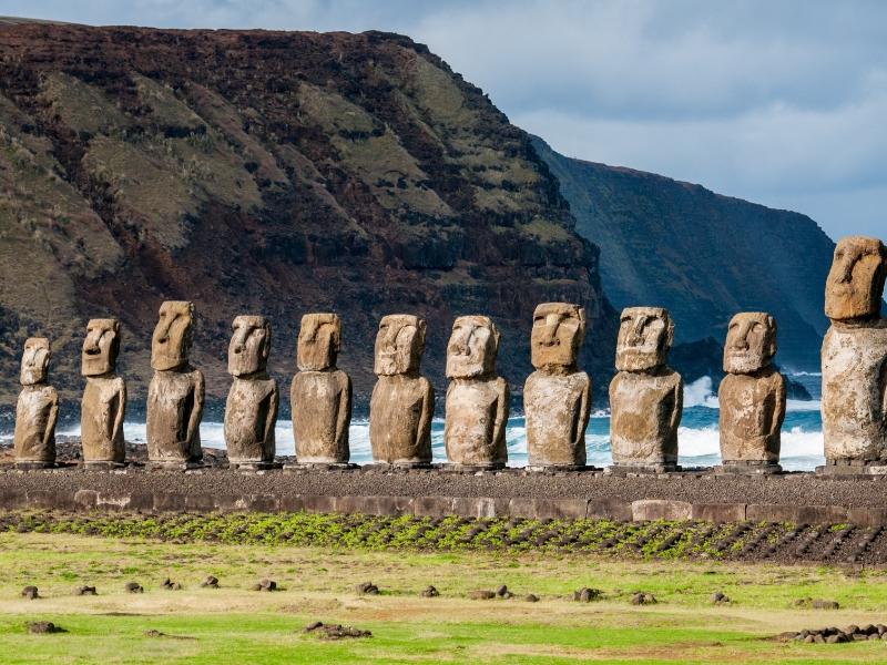 Iconic Statues - Moai, Easter Island