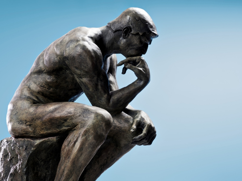 Iconic Statues - The Thinker, Paris