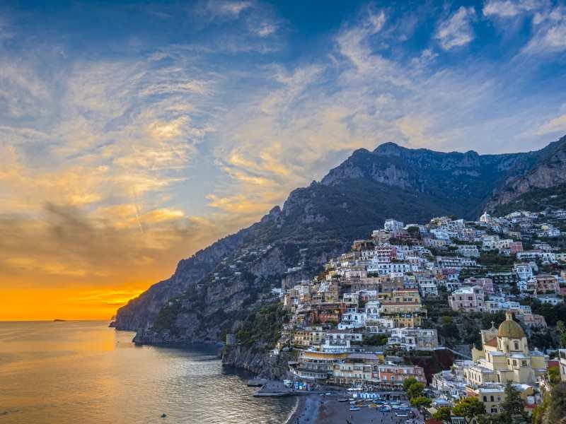 romantic holidays - amalfi coast