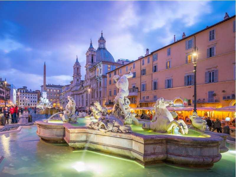 romantic holidays - rome