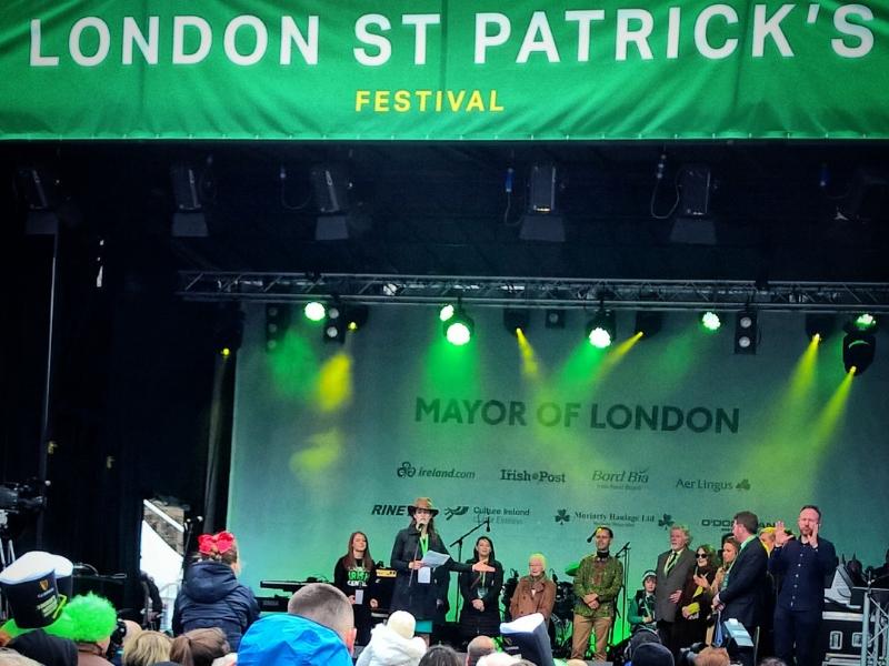 St Patrick's Day - London