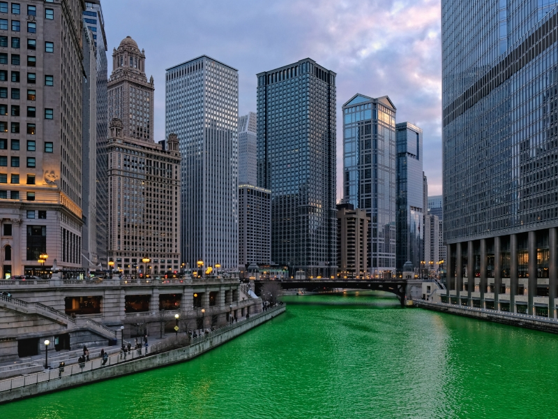 St Patrick's Day - Chicago