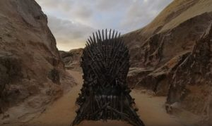 Game of Thrones Find the Throne