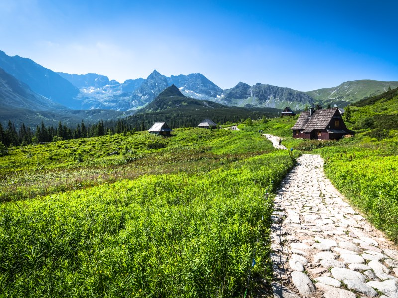 tatra mountains hiking