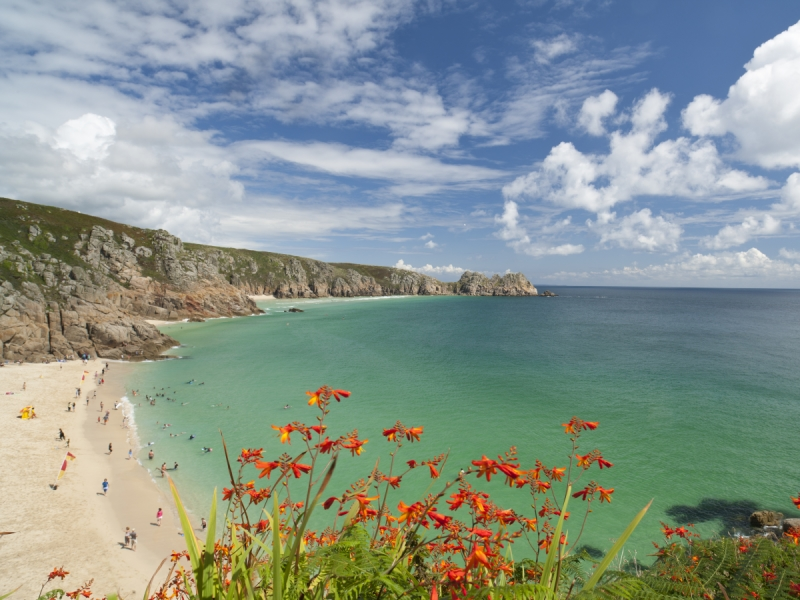 Portcurno places to visit cornwall
