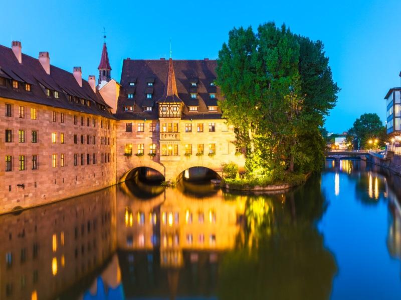 Nuremberg- danube river cities
