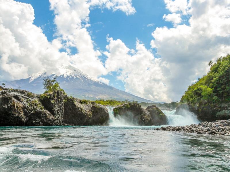 Petrohué Falls - wonders of chile