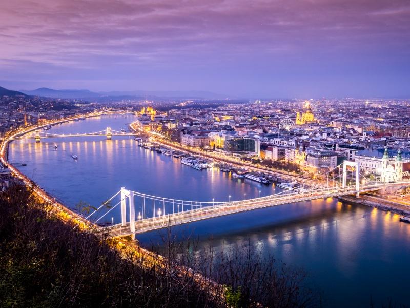Danube River Cities