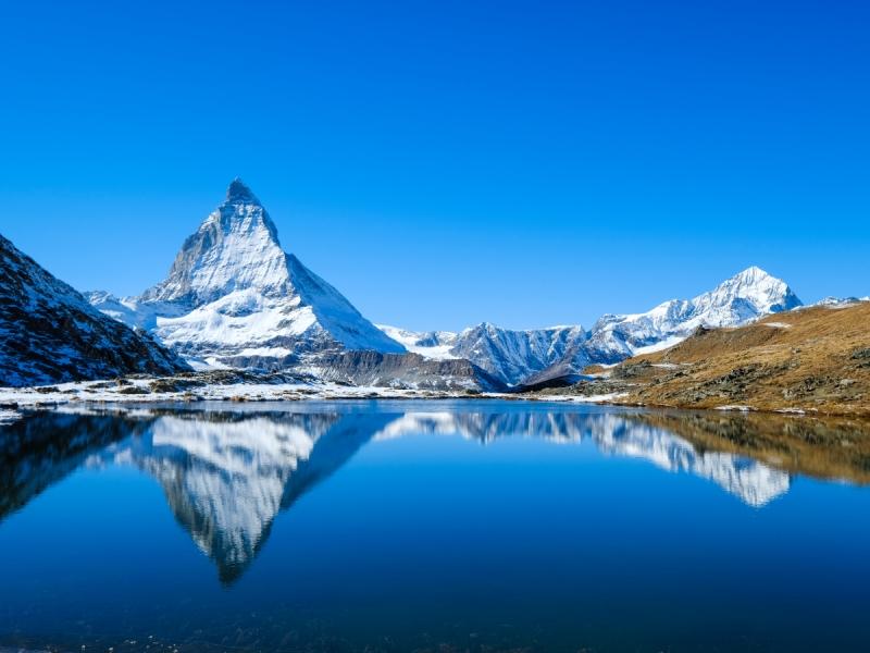 The Matterhorn - Lake Maggiore