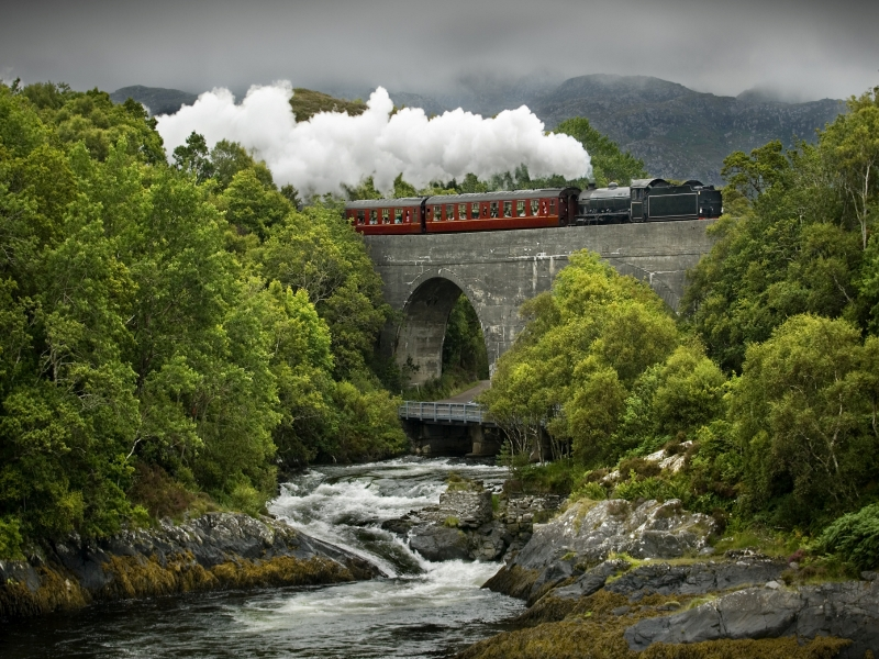 Scenic Scottish Railways