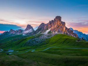 Pass Giau Dolomites